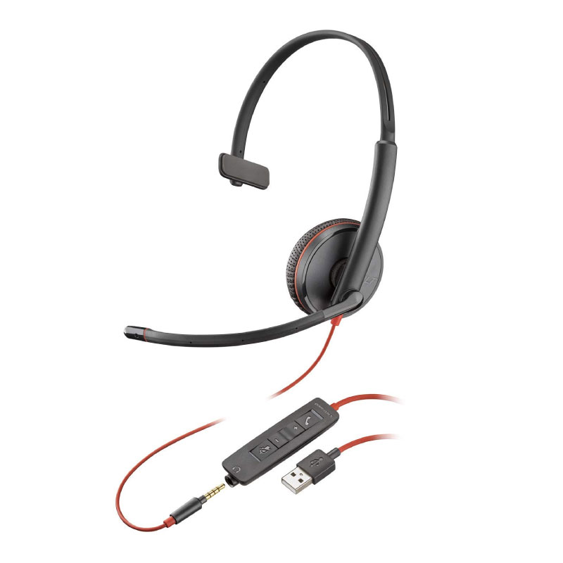 หูฟัง Plantronics Blackwire C3215 Headset