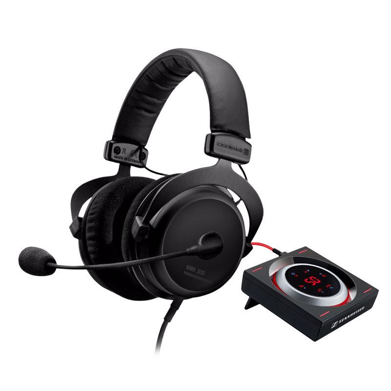 ชุดหูฟังเล่นเกม Beyerdynamic MMX300 + GSX 1000