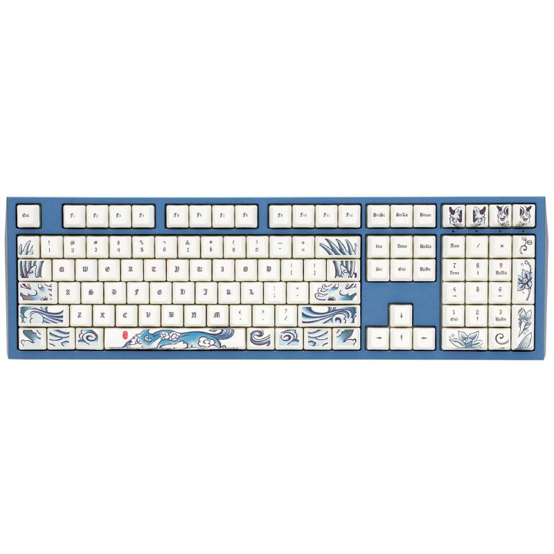 คีย์บอร์ด Ducky The Limited Edition Of Dog Year Mechanical Keyboard Brown SW (US)