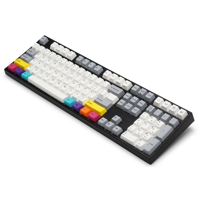 คีย์บอร์ด Varmilo CMYK Multi Color Mechanical Keyboards Silent Red Switch