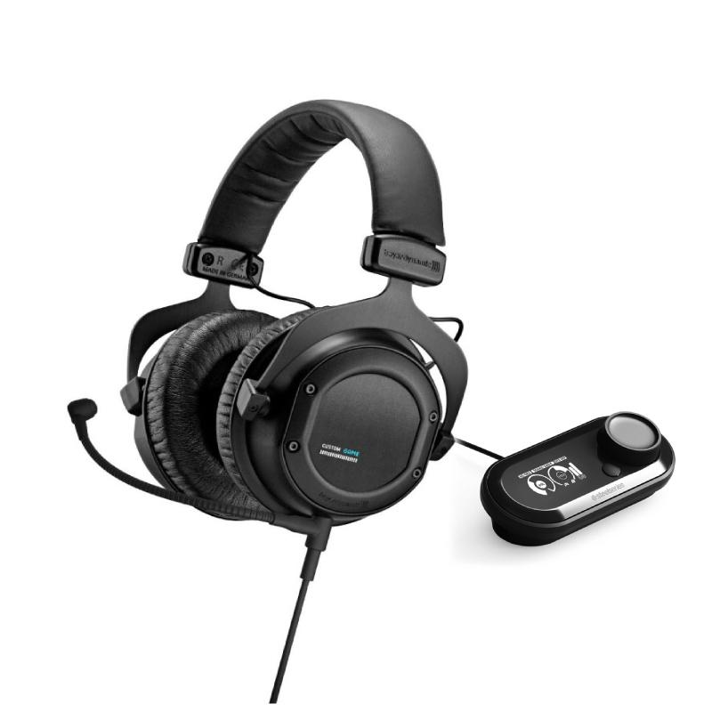 ชุดหูฟังเล่นเกม Beyerdynamic Custom Game + SteelSeries GameDAC
