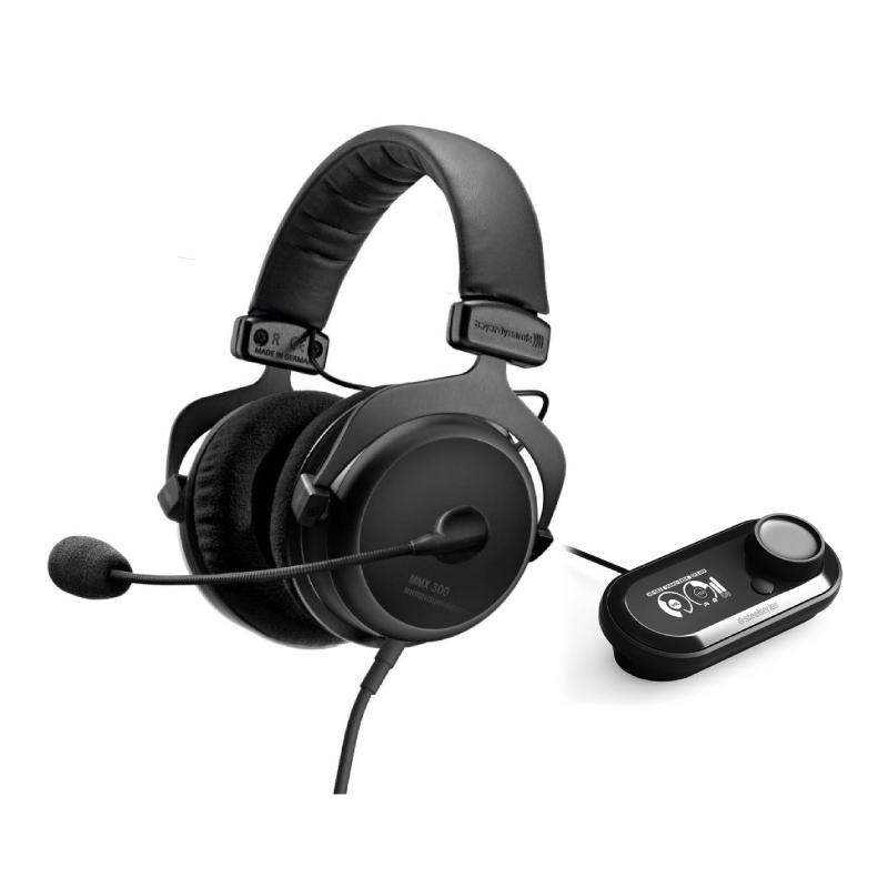 ชุดหูฟังเล่นเกม Beyerdynamic MMX300 + SteelSeries GameDAC