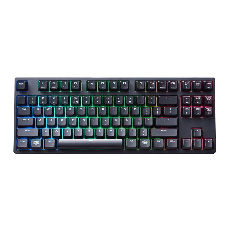 คีย์บอร์ด Cooler Master Masterkeys Pro S RGB Mechanical Keyboard Cherry MX Red