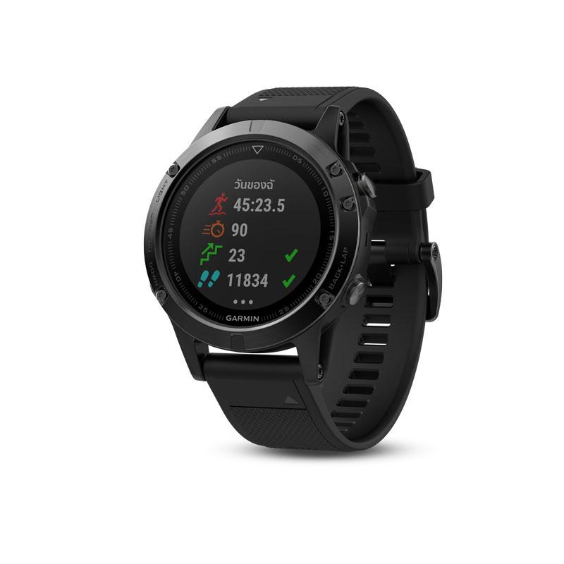 Garmin Fenix 5 Sapphire Black Sport Watch