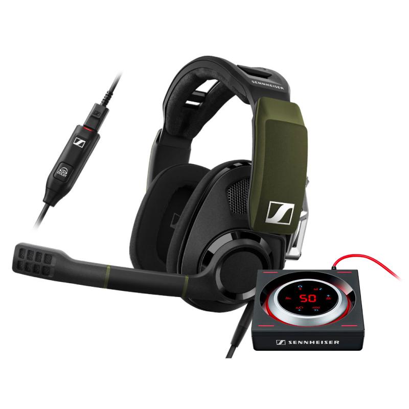 ชุดหูฟังเล่นเกม Sennheiser GSP 550 + GSX 1000