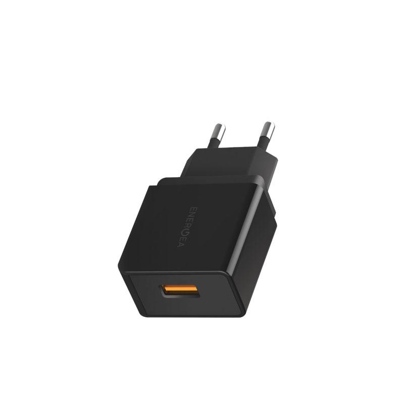 แท่นชาร์จ Energea Wall Charger Ampcharge QC3.0 Single USB 18W (EU) ซื้อ-ขาย