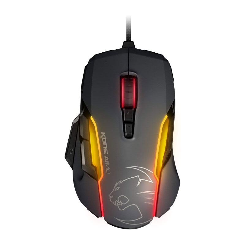 เมาส์ Roccat Kone AIMO RGBA Smart Customization Gaming Mouse