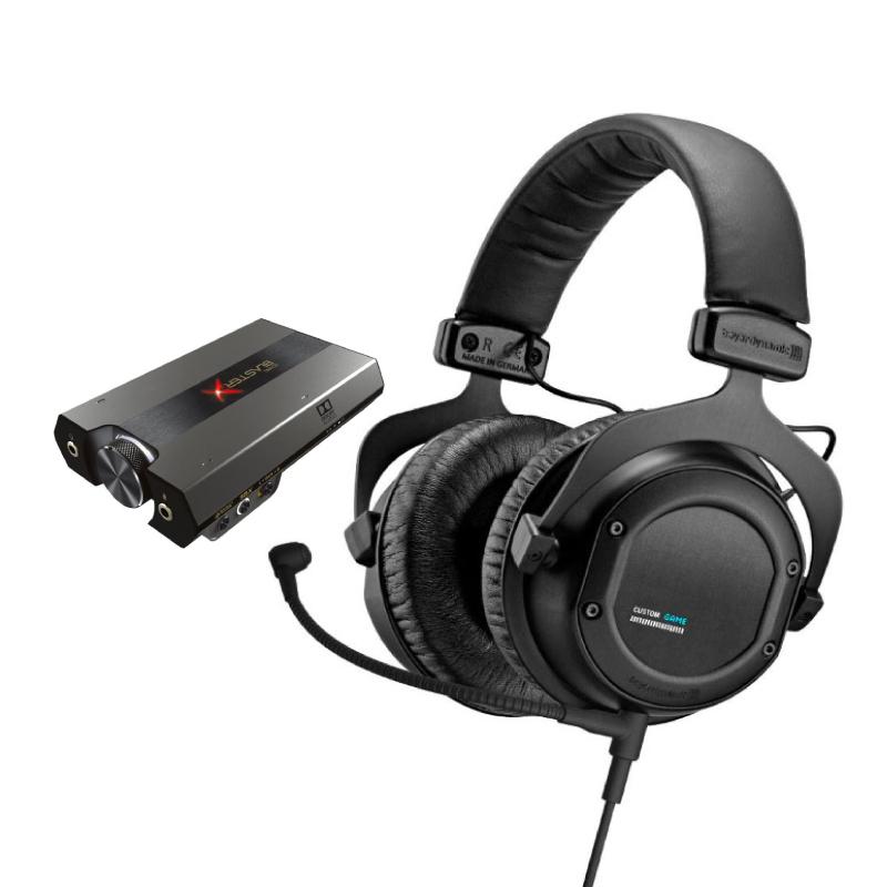 ชุดหูฟังเล่นเกม Beyerdynamic Custom + Creative G6