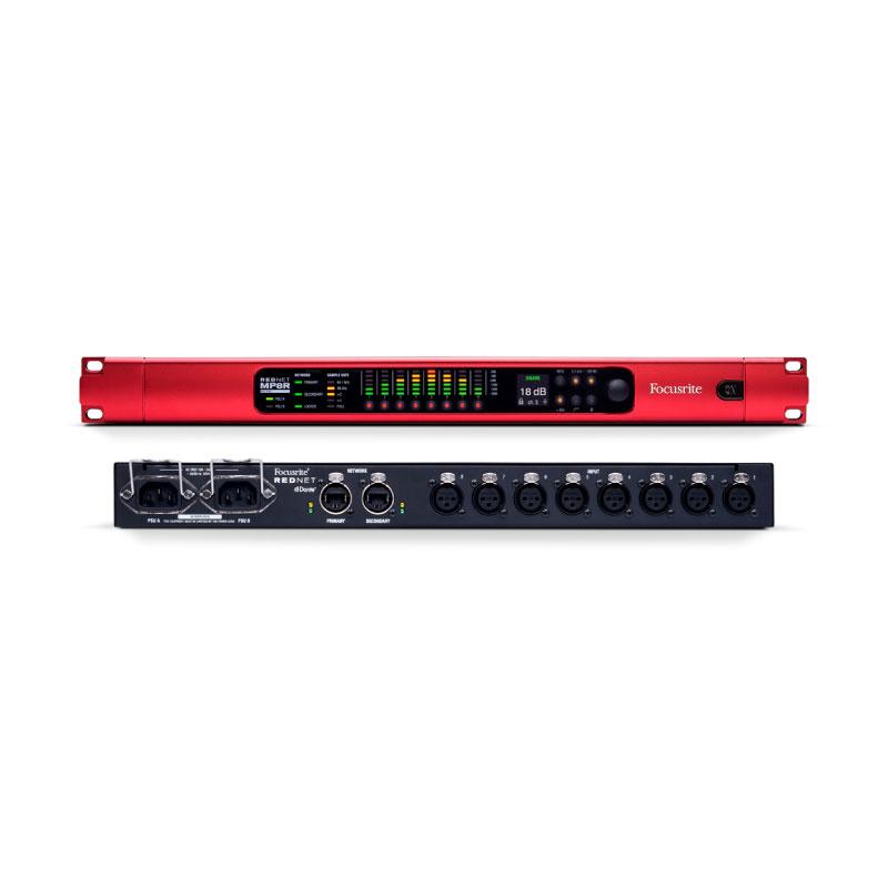 Focusrite RedNet MP8R Ethernet Interface