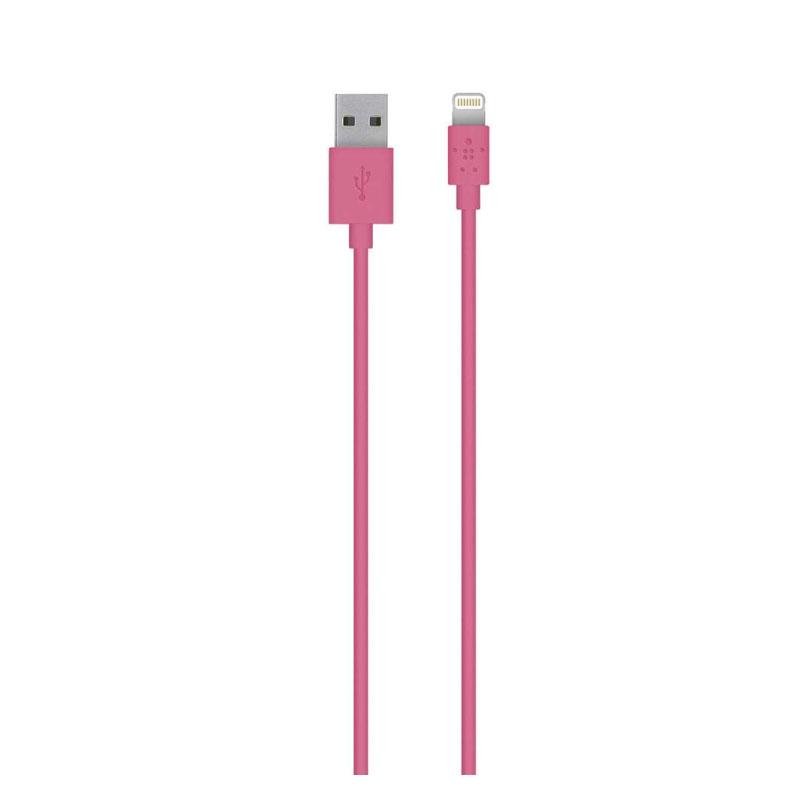 สายชาร์จ Belkin Lightning Sync and Charge 2.4 Amp Cable ความยาว