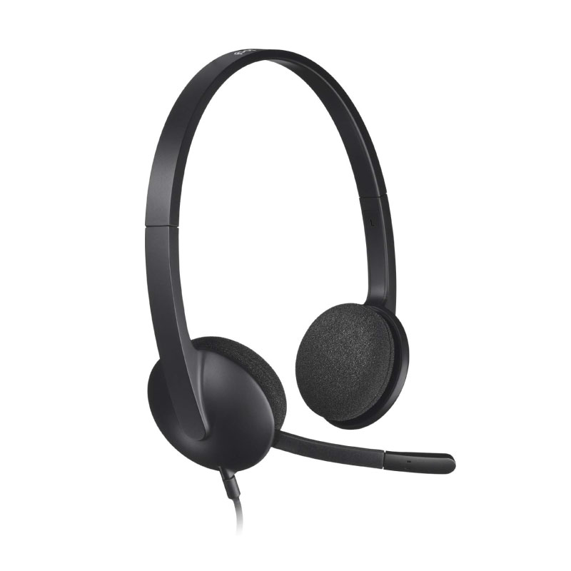 หูฟัง Logitech H340 USB On-Ear Headset