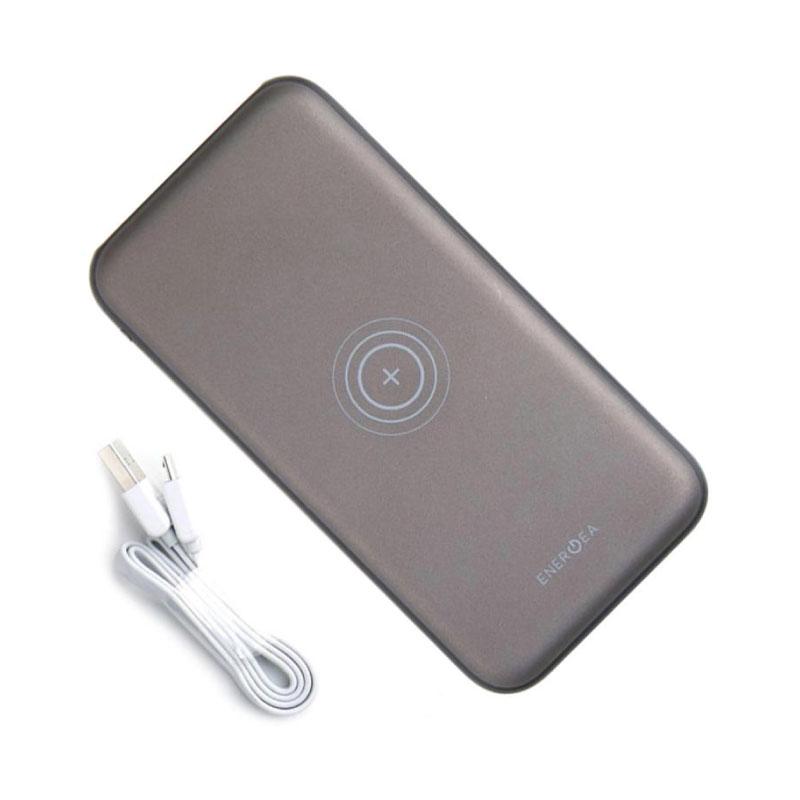 แบตเตอรี่สำรอง Energea Slimpac 8000Mah Li-Poly Wireless Charging ซื้ิอ